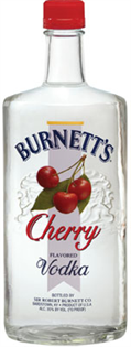 Burnett's Vodka Cherry 750ml - Case...